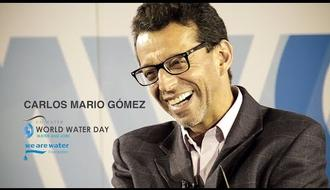 Interview with Carlos Mario Gómez during World Water Day 2016