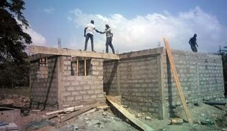 Building of public toilets and educational campaign against open air defecation in Old Ningo, Ghana