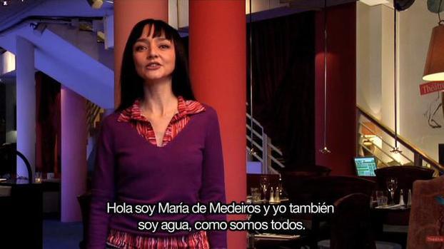 """Maria de Medeiros - """"Juntos podremos hacer muchas cosas!"""""""