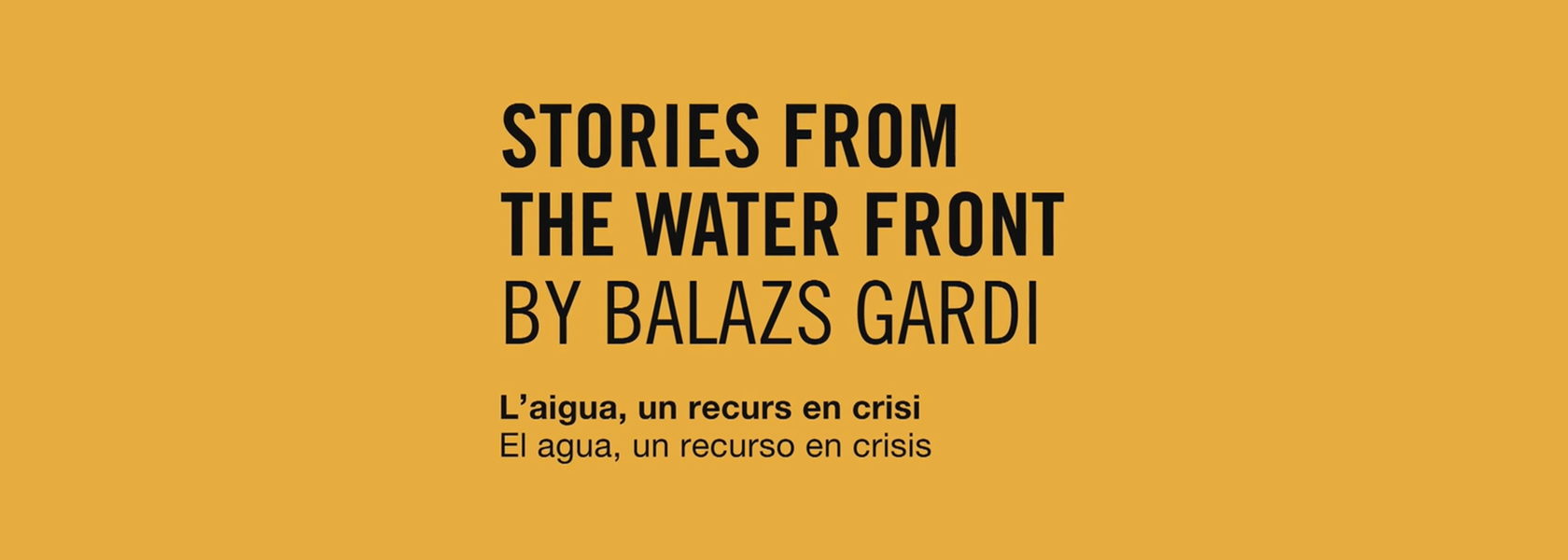 Stories from the water front