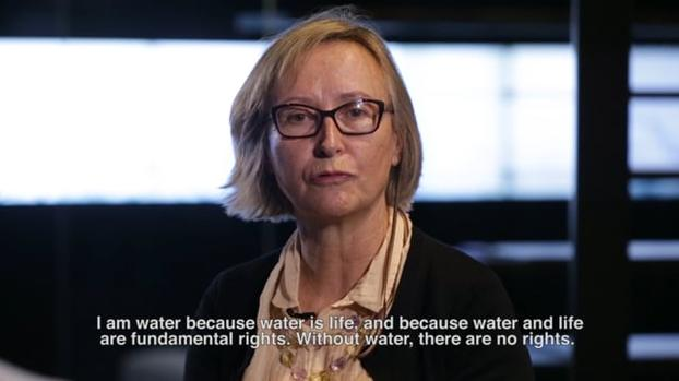 "Rocio Garcia: ""Water and life are fundamental rights"""