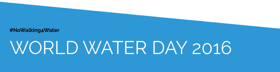 World water day 2016 we are water for We are water