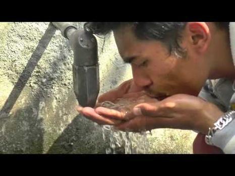 Water in Kathmandu