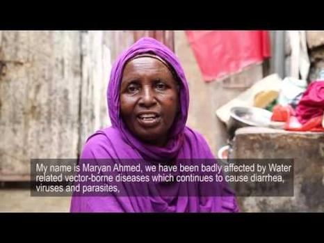 Somalia water problems including waterborne diseases and shortage of water