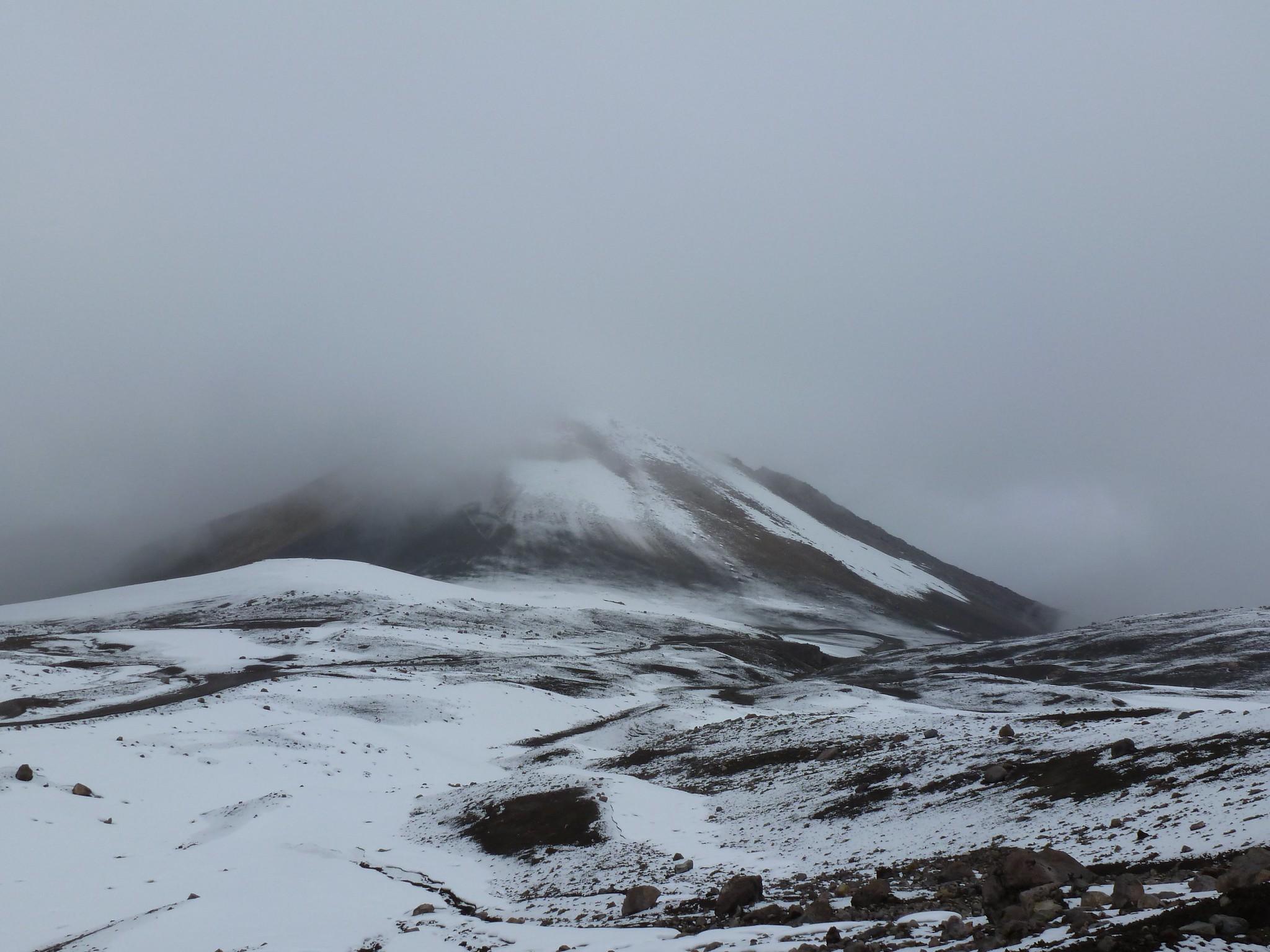 Volcano Nevado Ruiz, Colombia © ManuB.