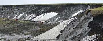 Principal el deshielo del permafrost