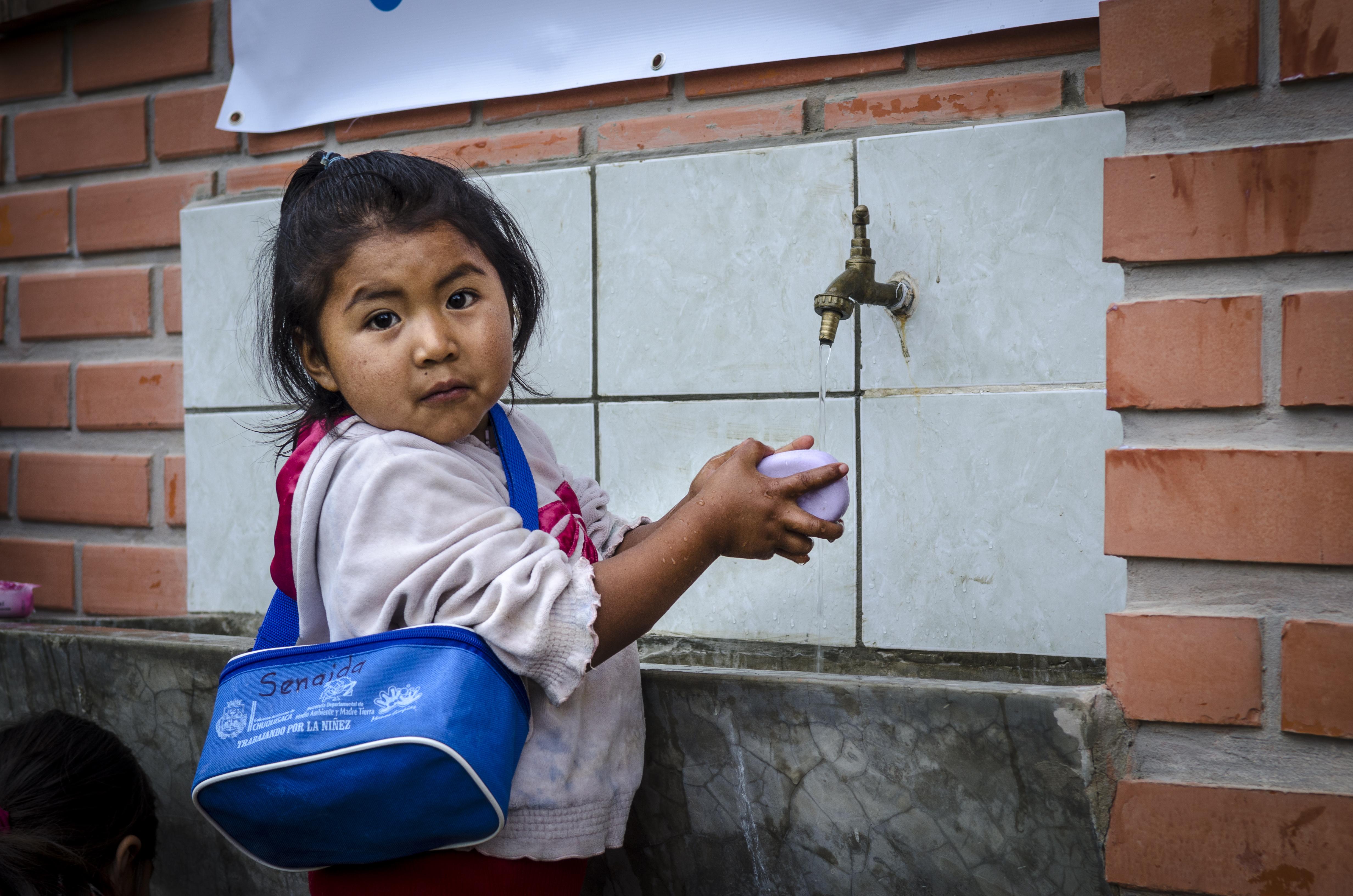 lavarse las manos bolivia