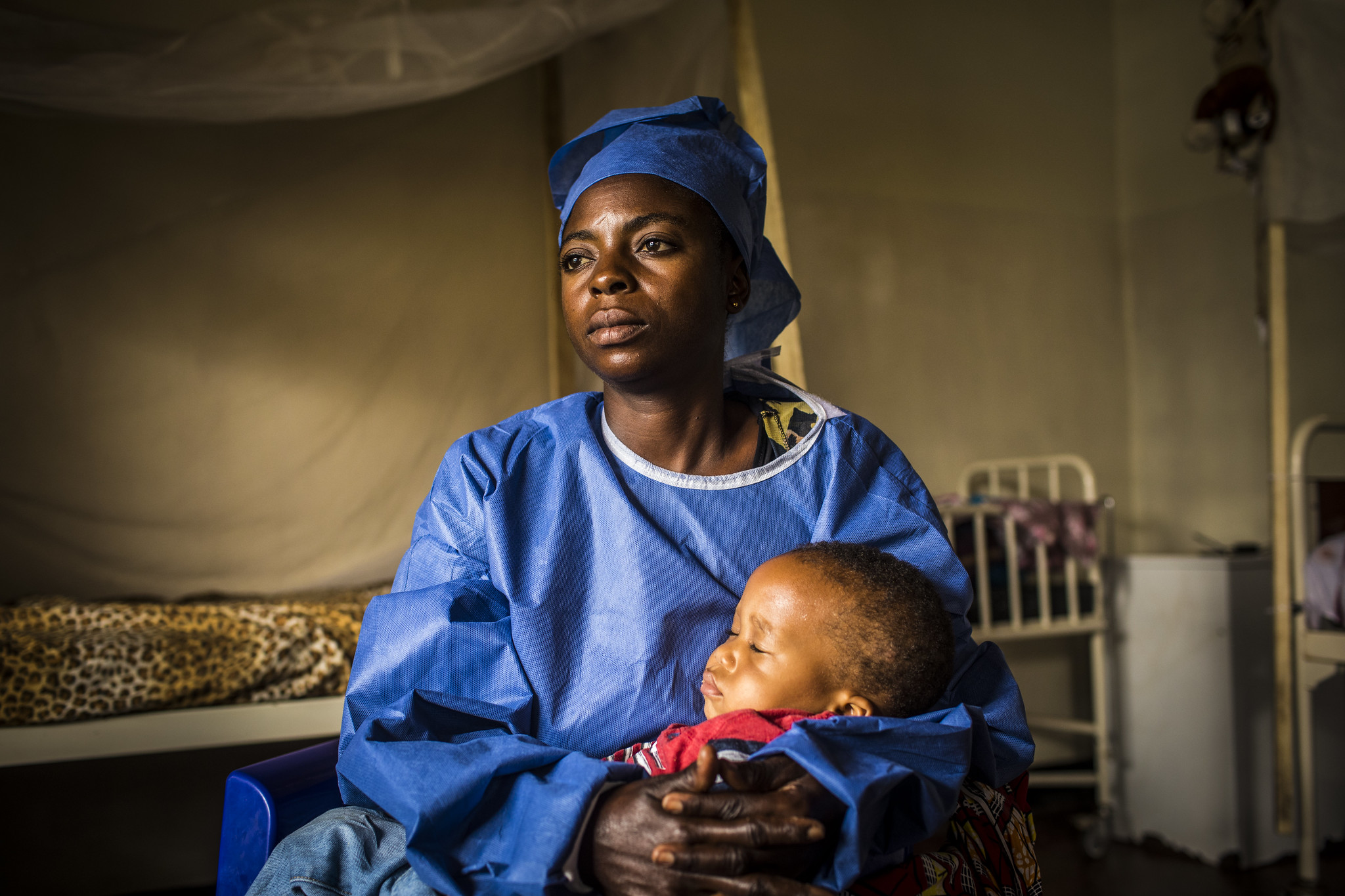 Ebola transition center