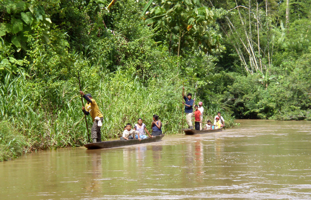 Indigenous people in Bosawas