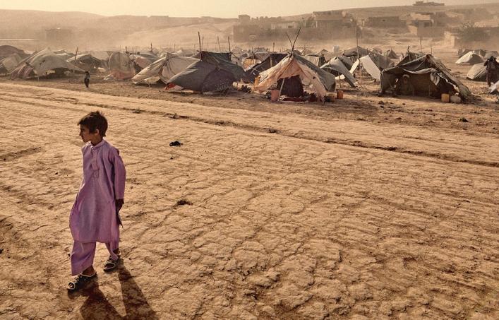 afghan refugee camp