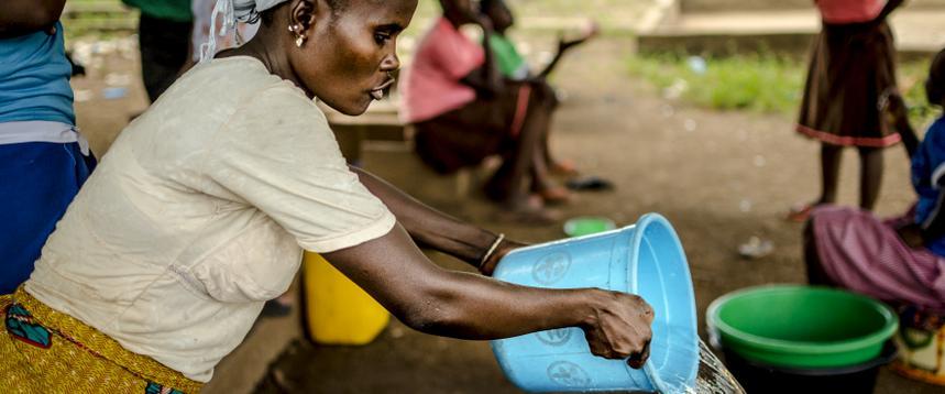 el agua no es solo el problema, también es la solcuión mujer