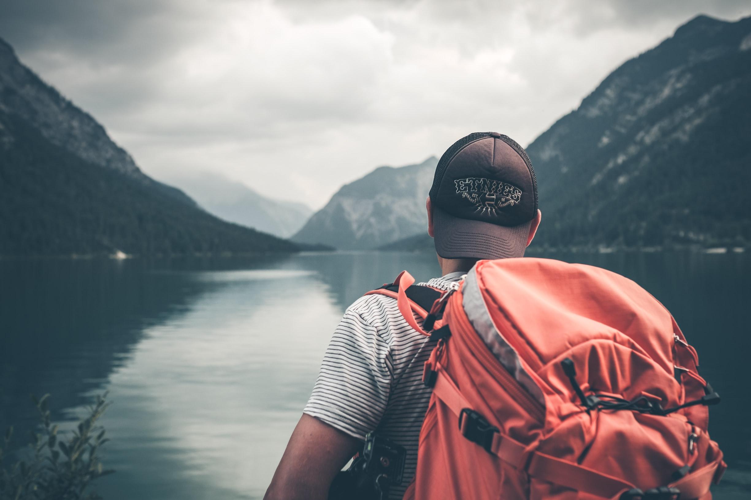 tourist lake