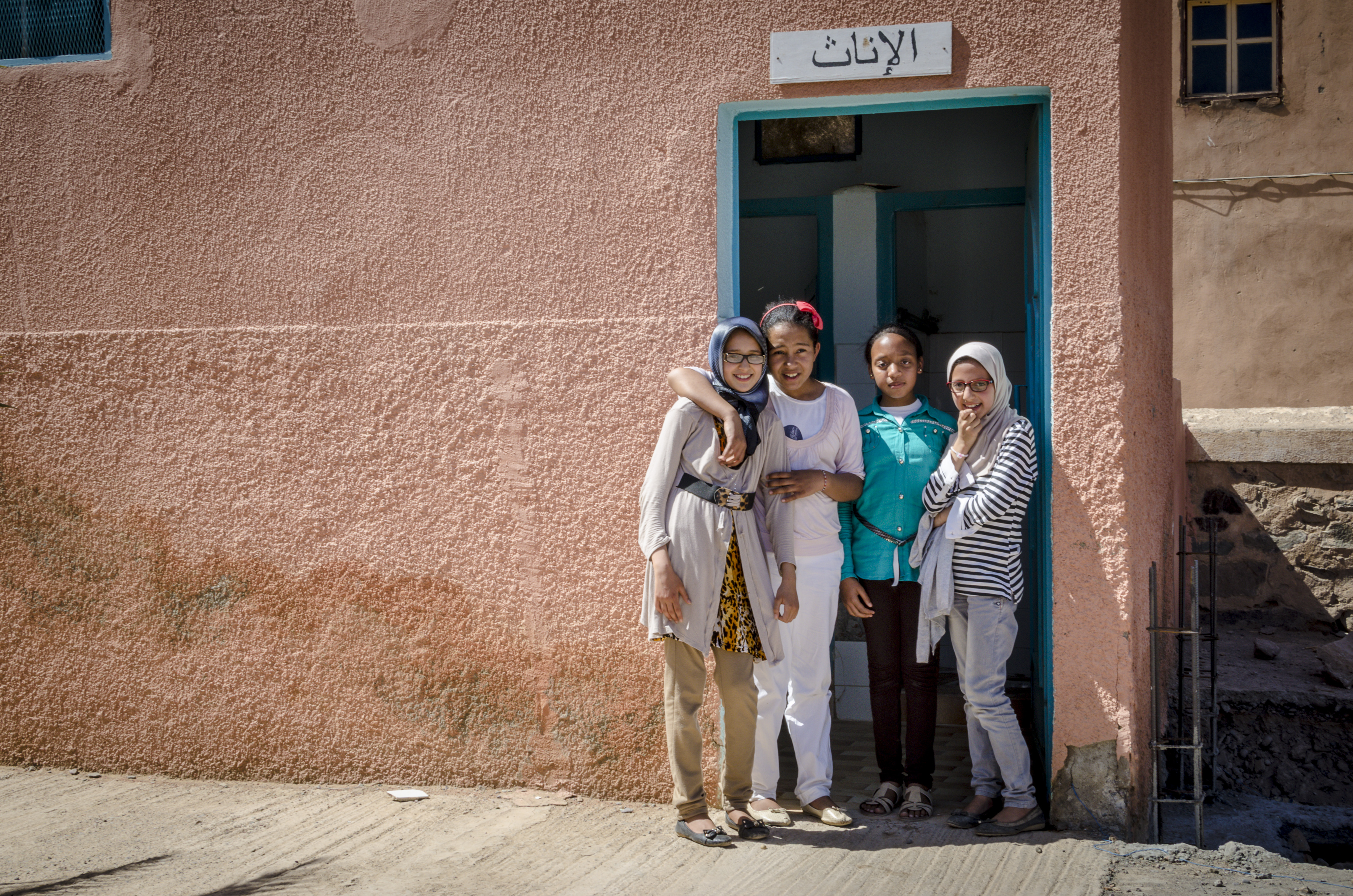 women door Morocco