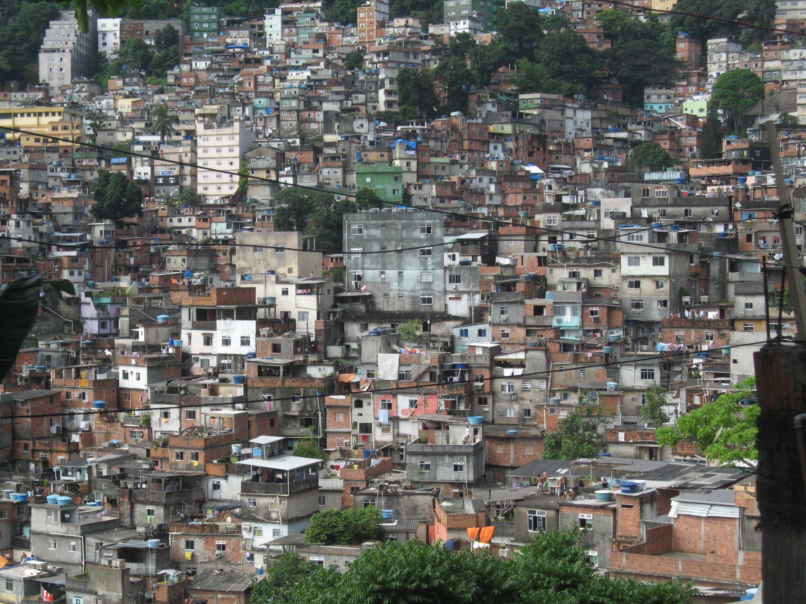 degraded urban neighborhoods favela