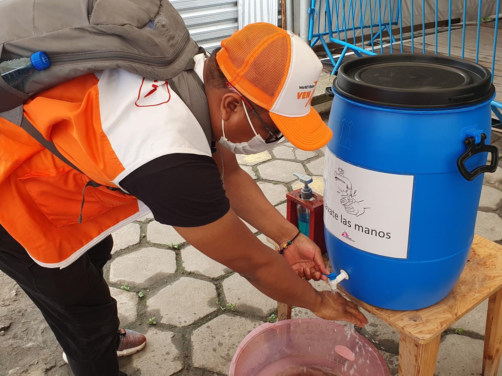 Brazil project world vision handwashing coronavirus