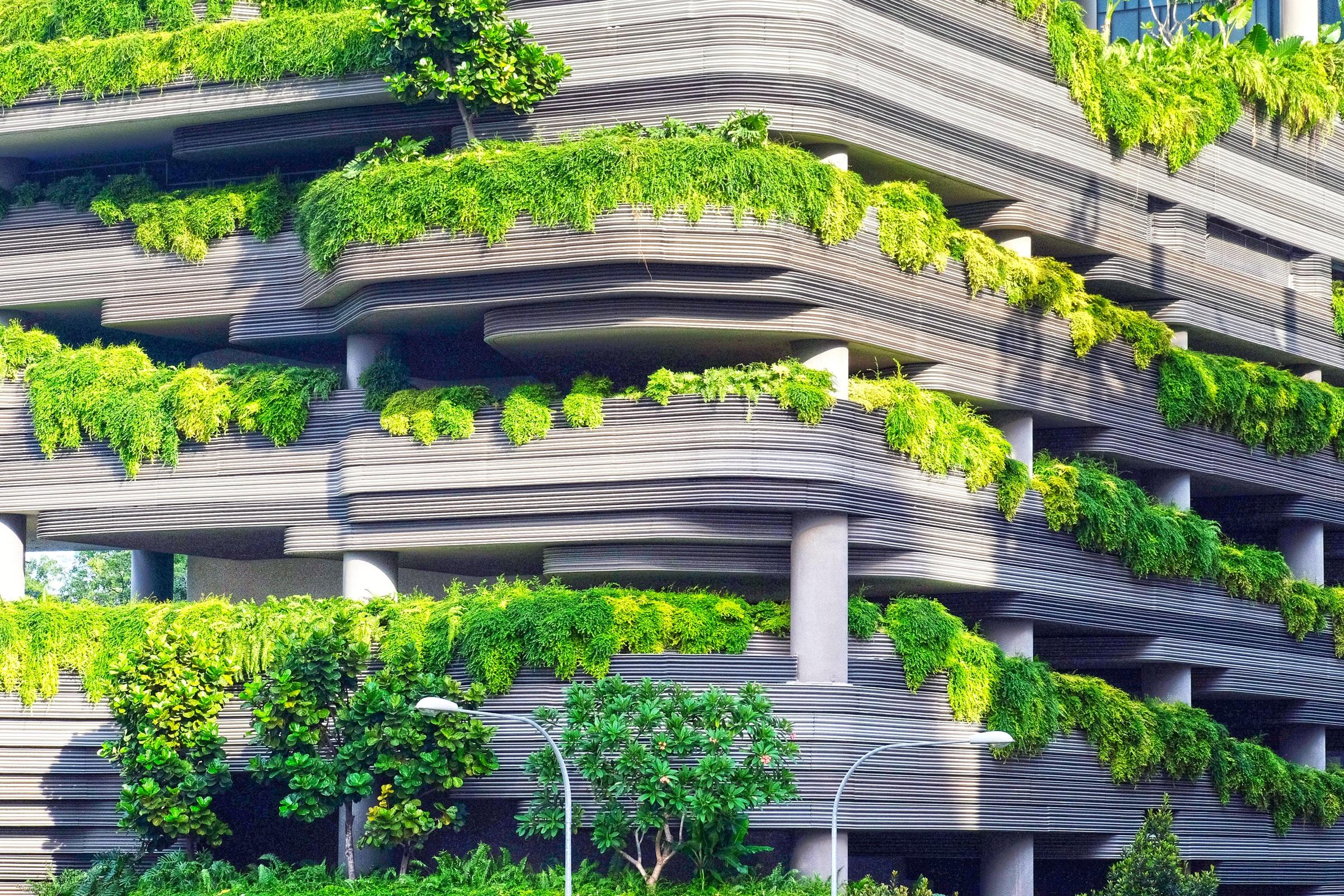 edificio verde sostenible