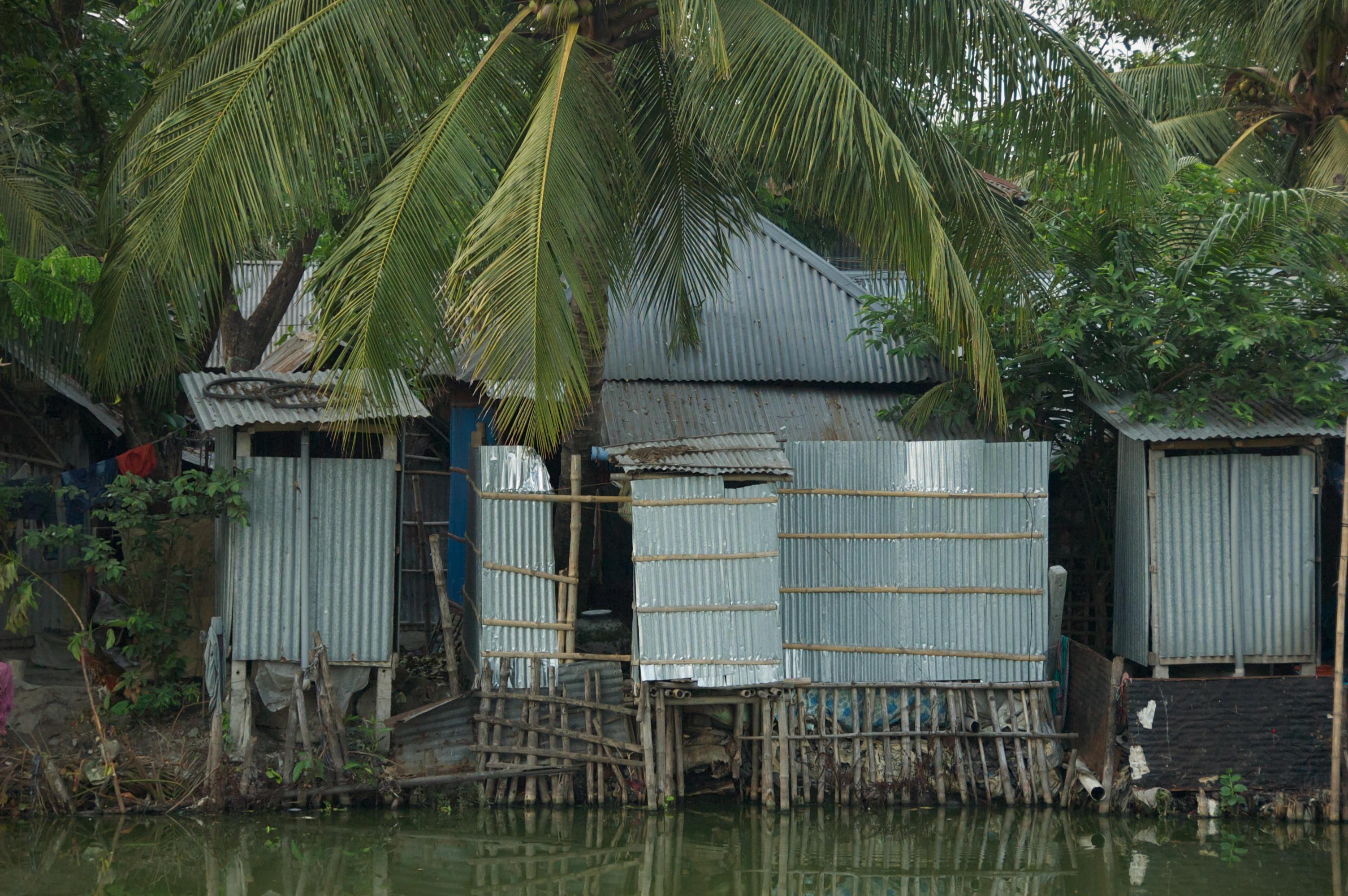 casa flotante saneamiento