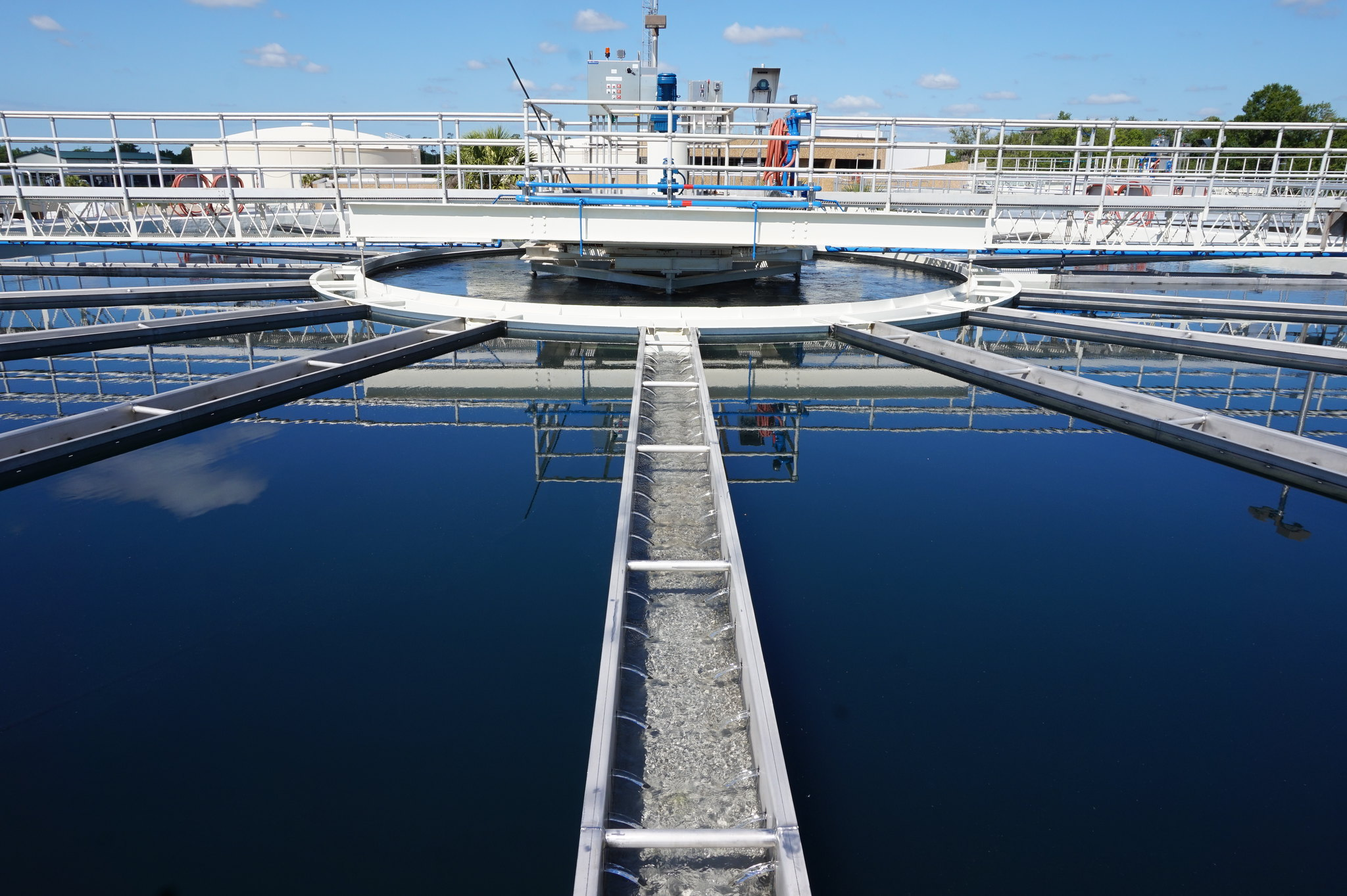 water treatment plant florida