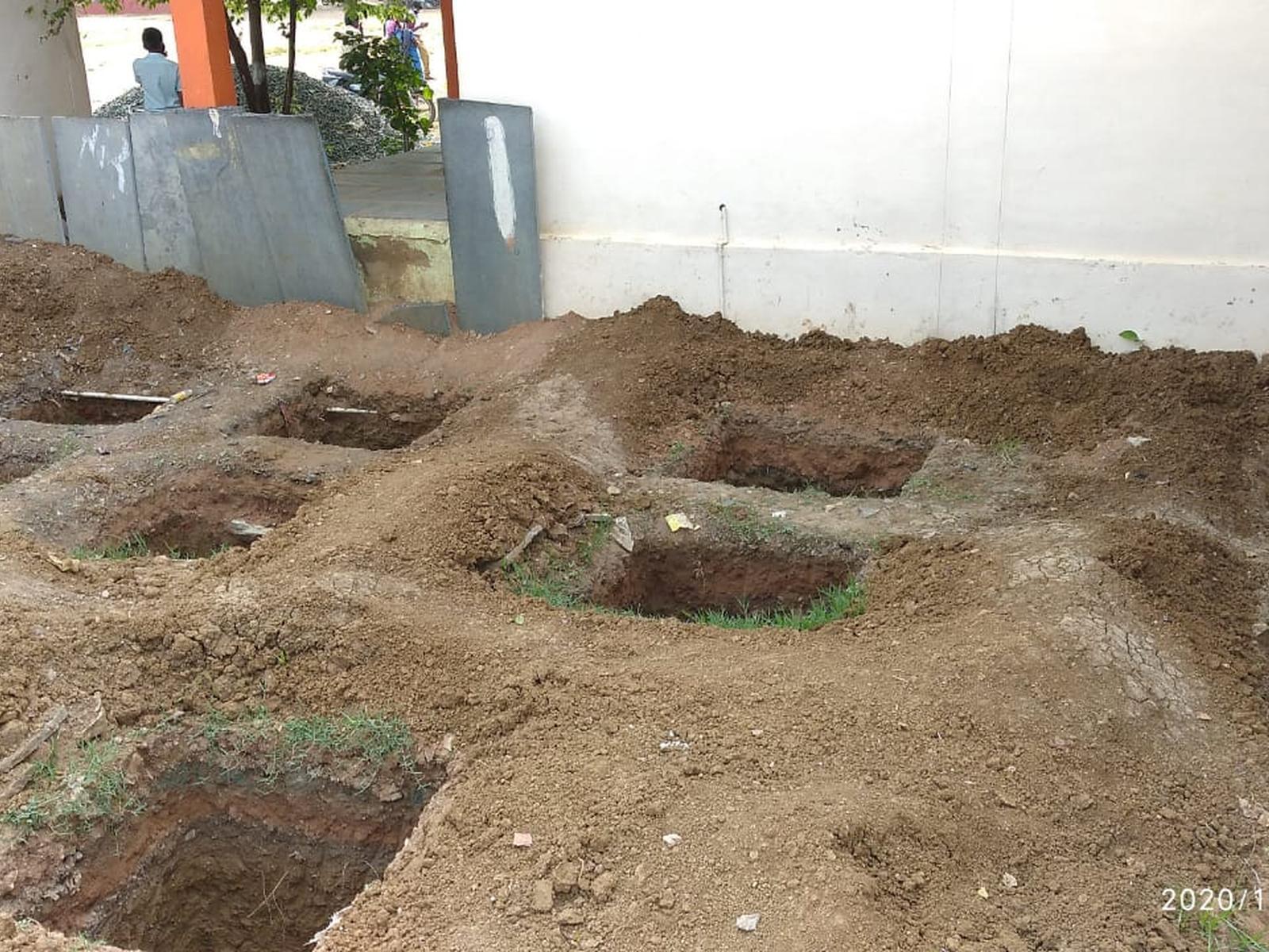letrinas distrito de koornol Wash project