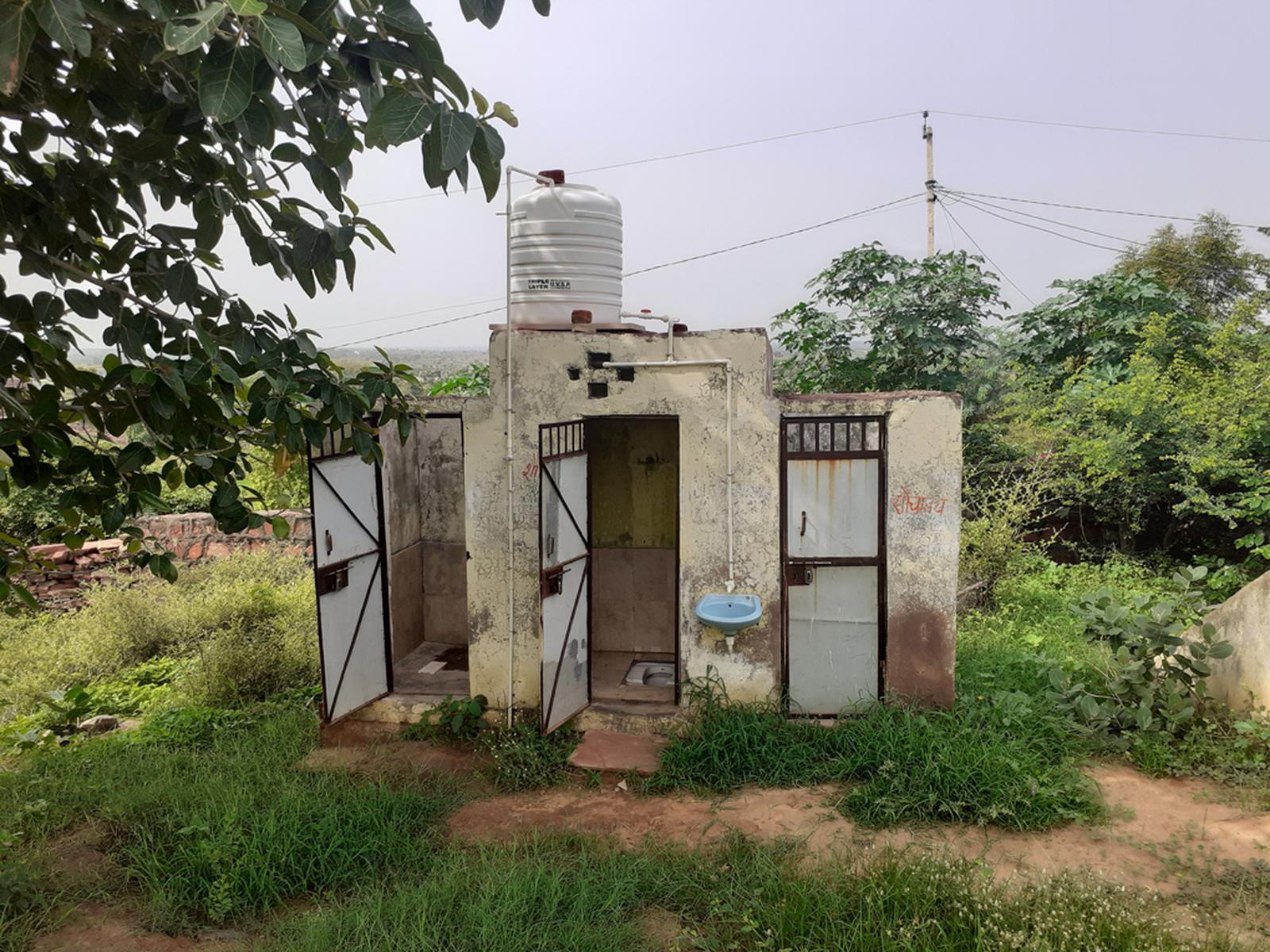 letrines dholpur district
