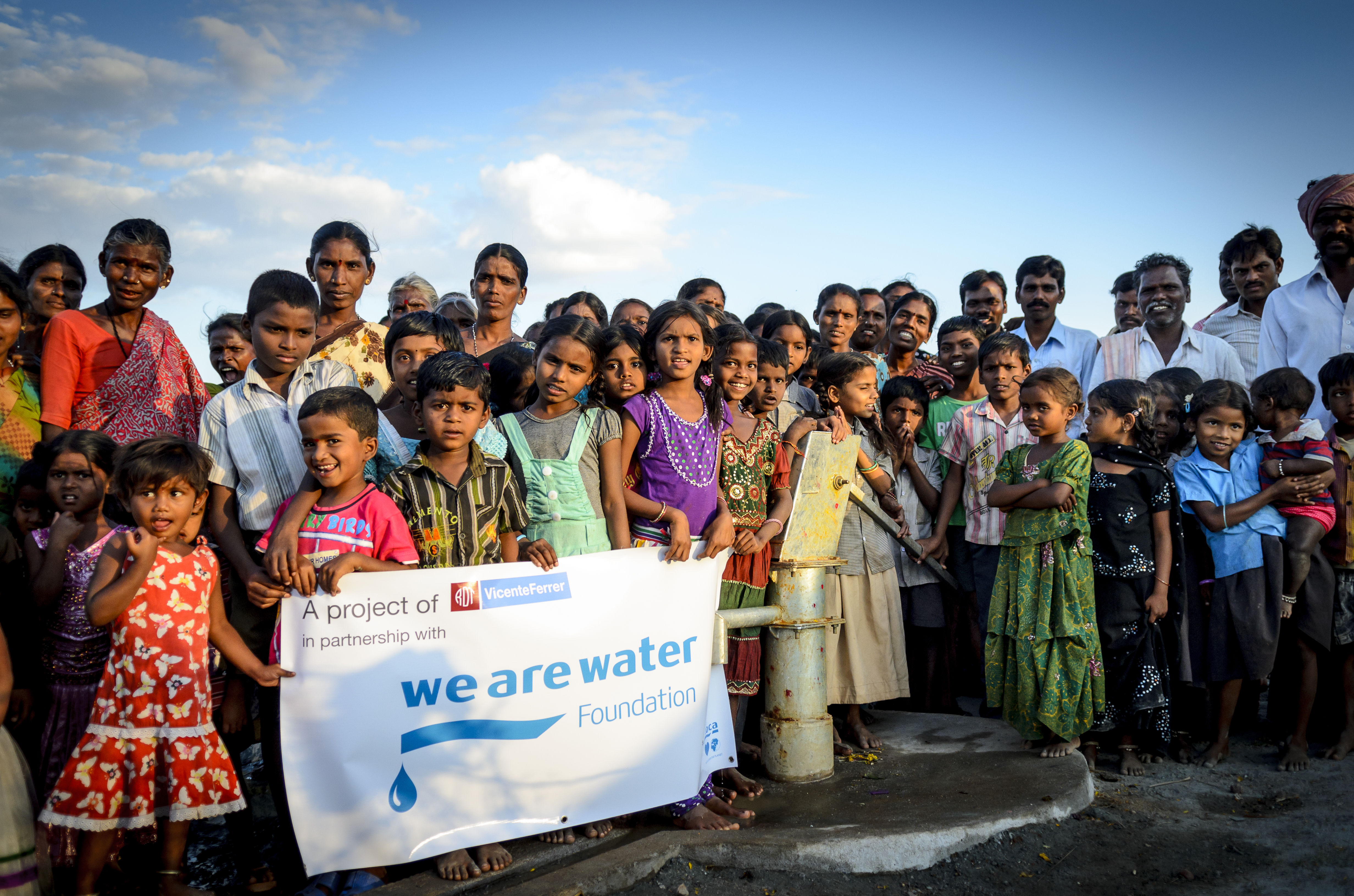 we are water foundation project in india image