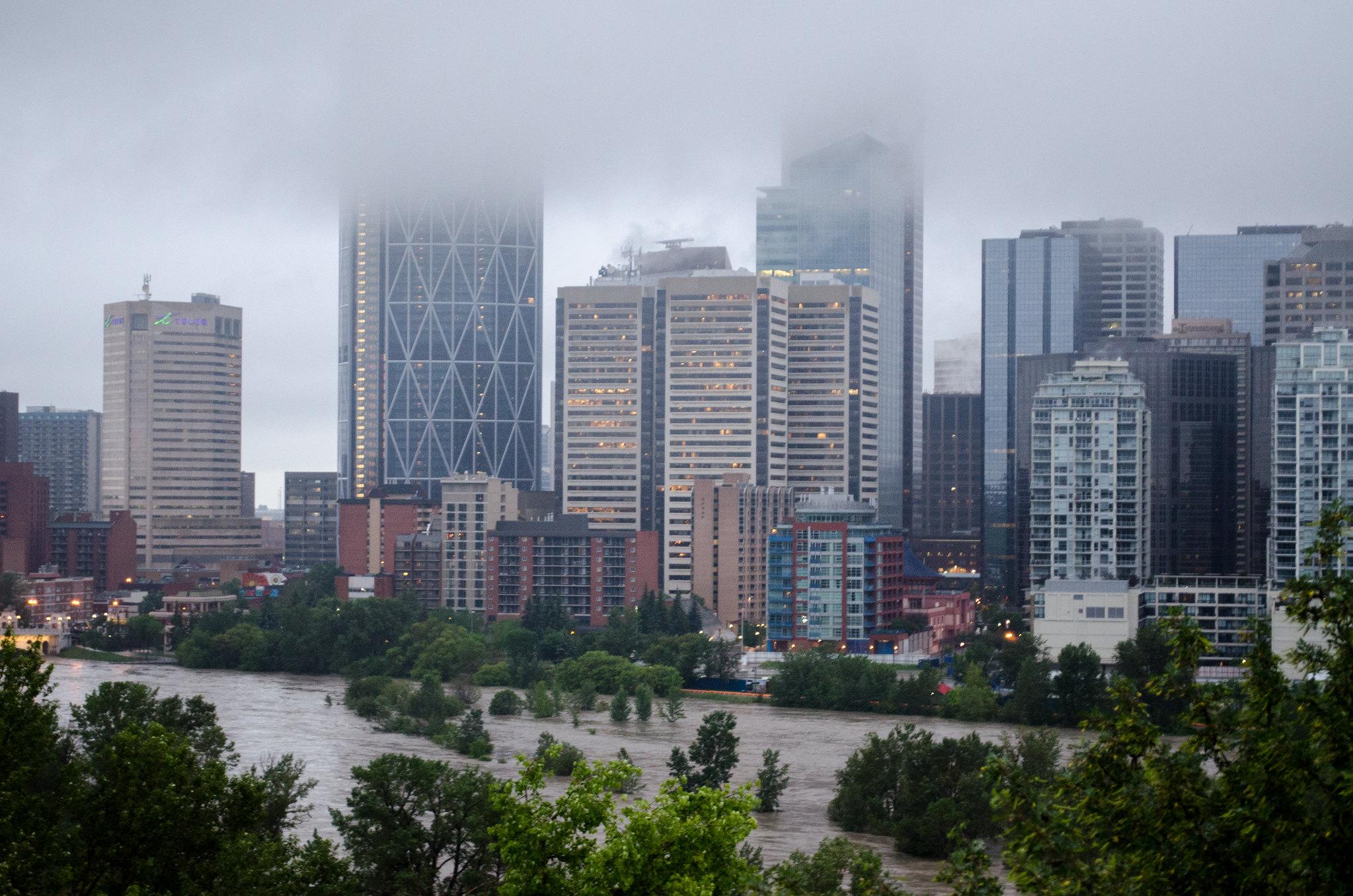 Buildings calgary flood