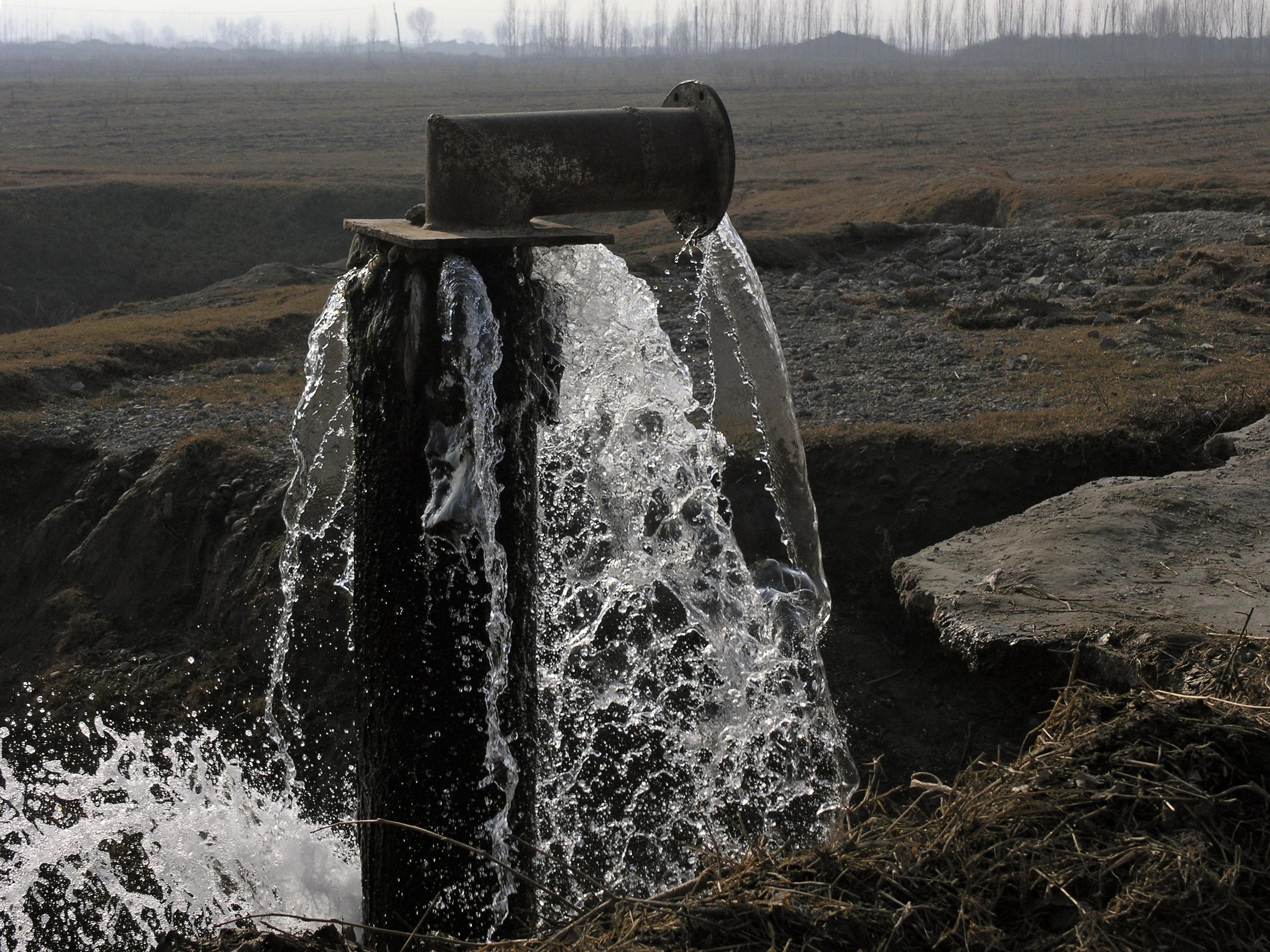 Ferghana Valley infraestructura agua
