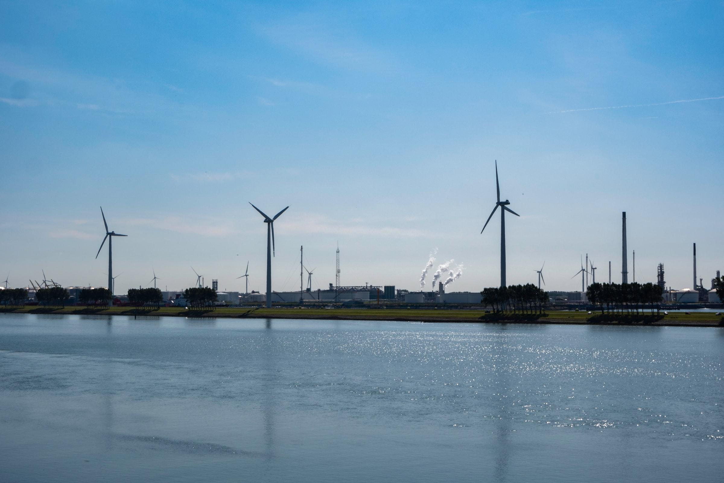 energía eólica turbinas