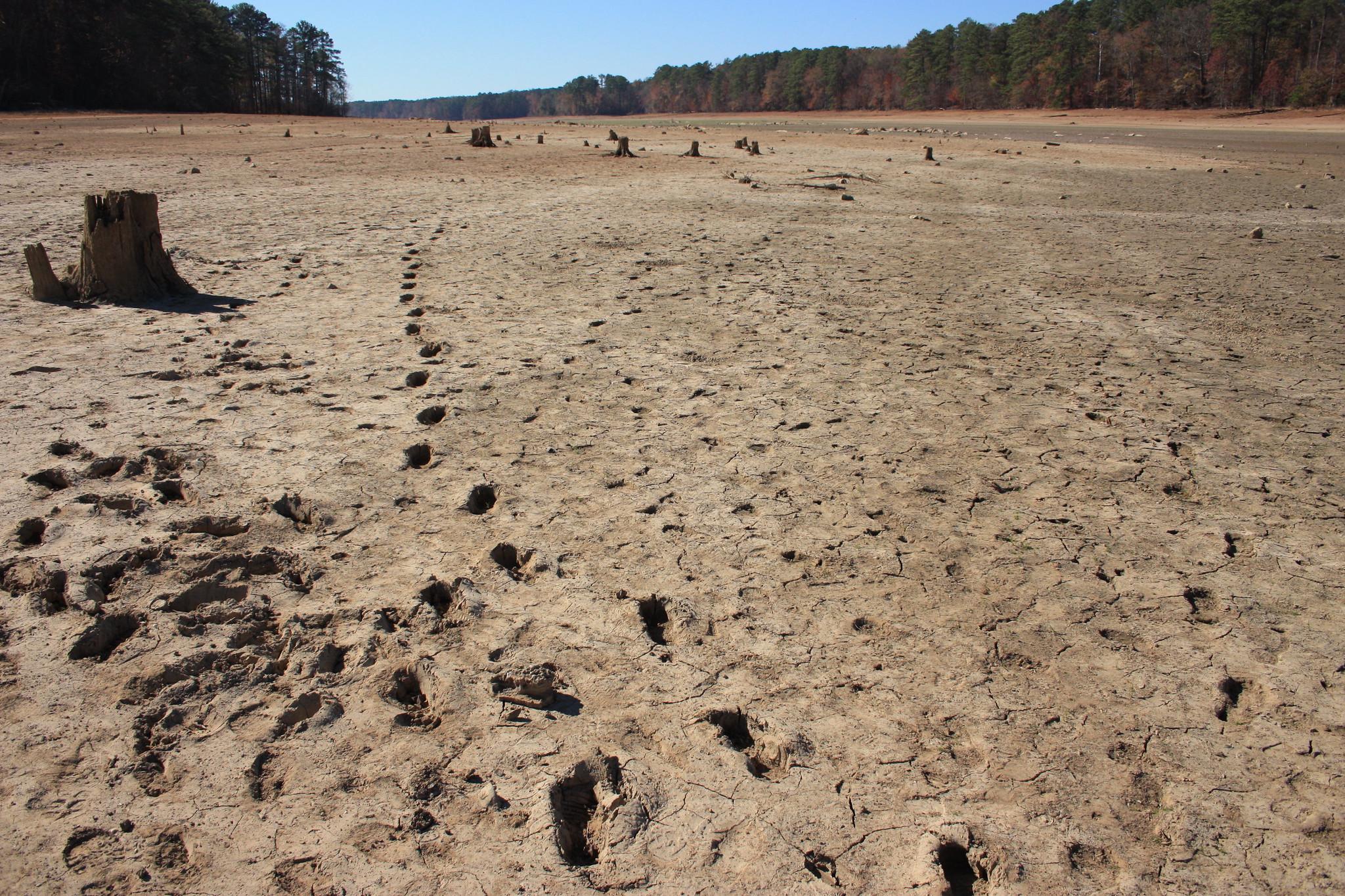 Drought aral sea
