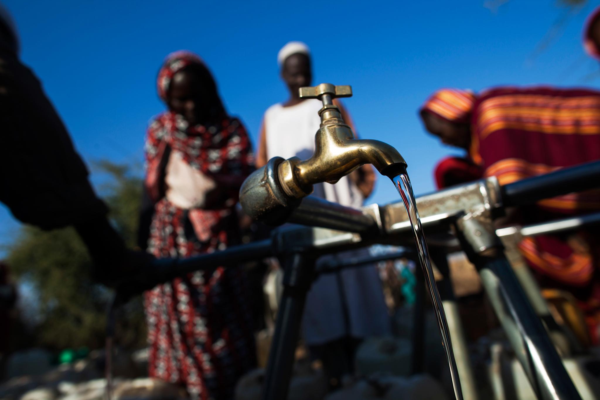 tap water in a rural village