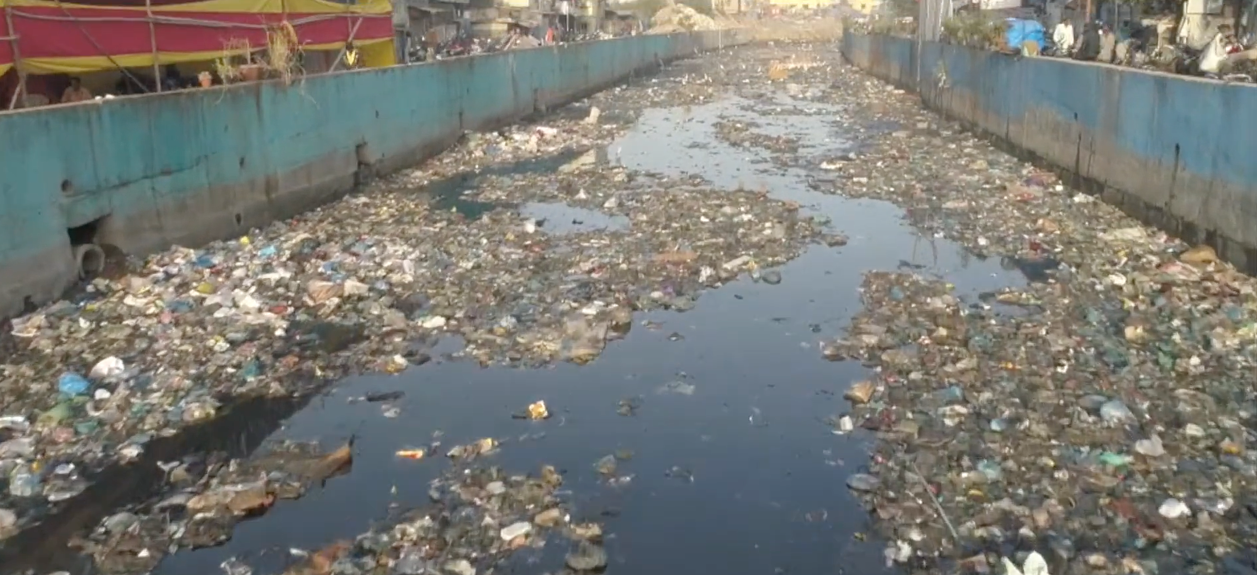 Mithi river industrial waste