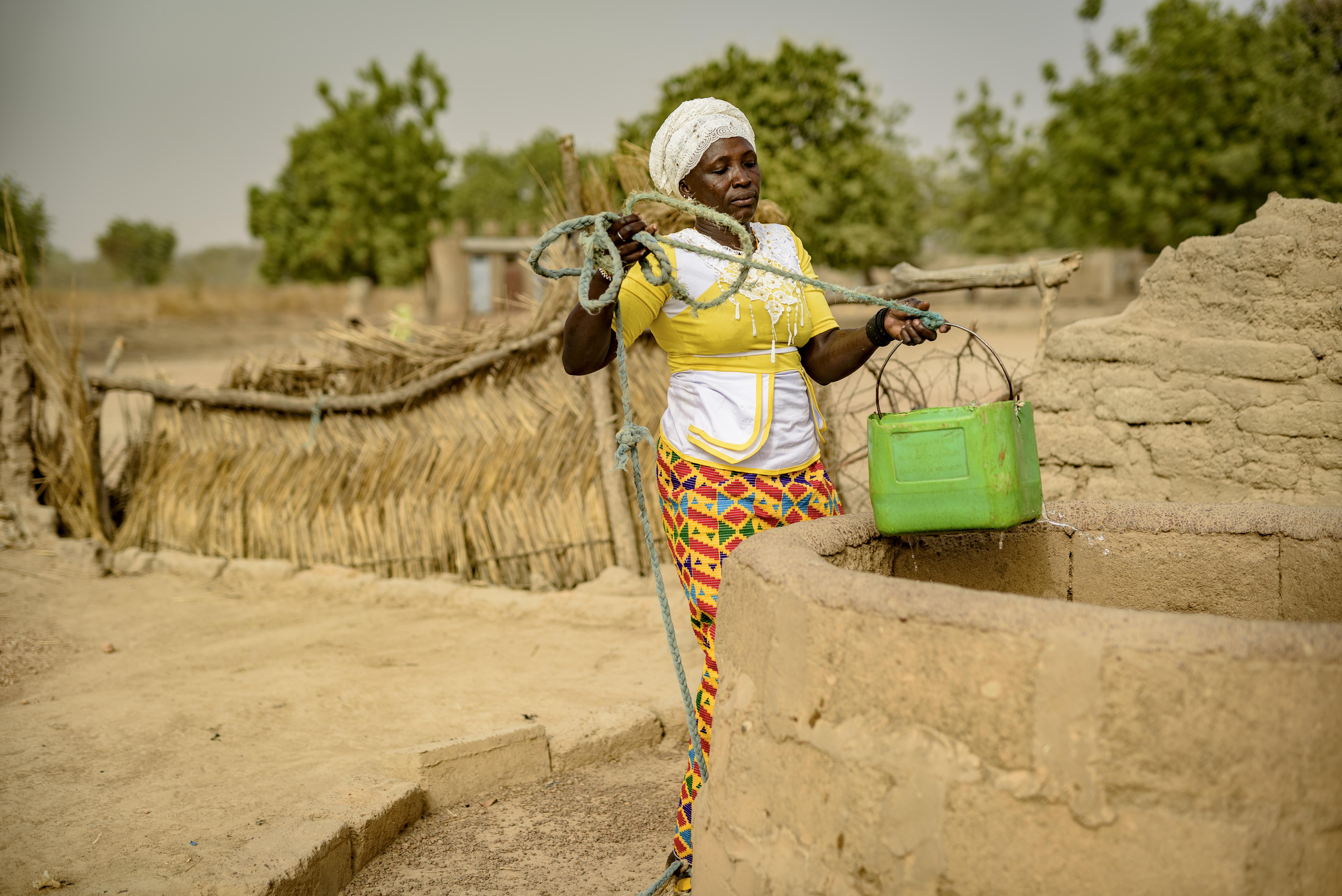 woman in Sahel