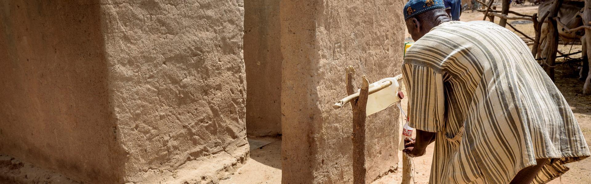 Burkina Faso letrines