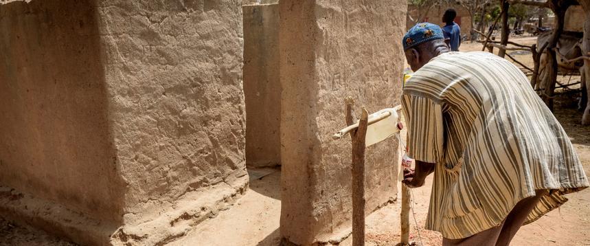 Burkina Faso letrinas