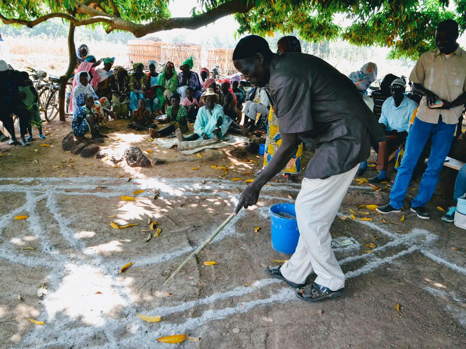 CLTS approach Burkina Faso