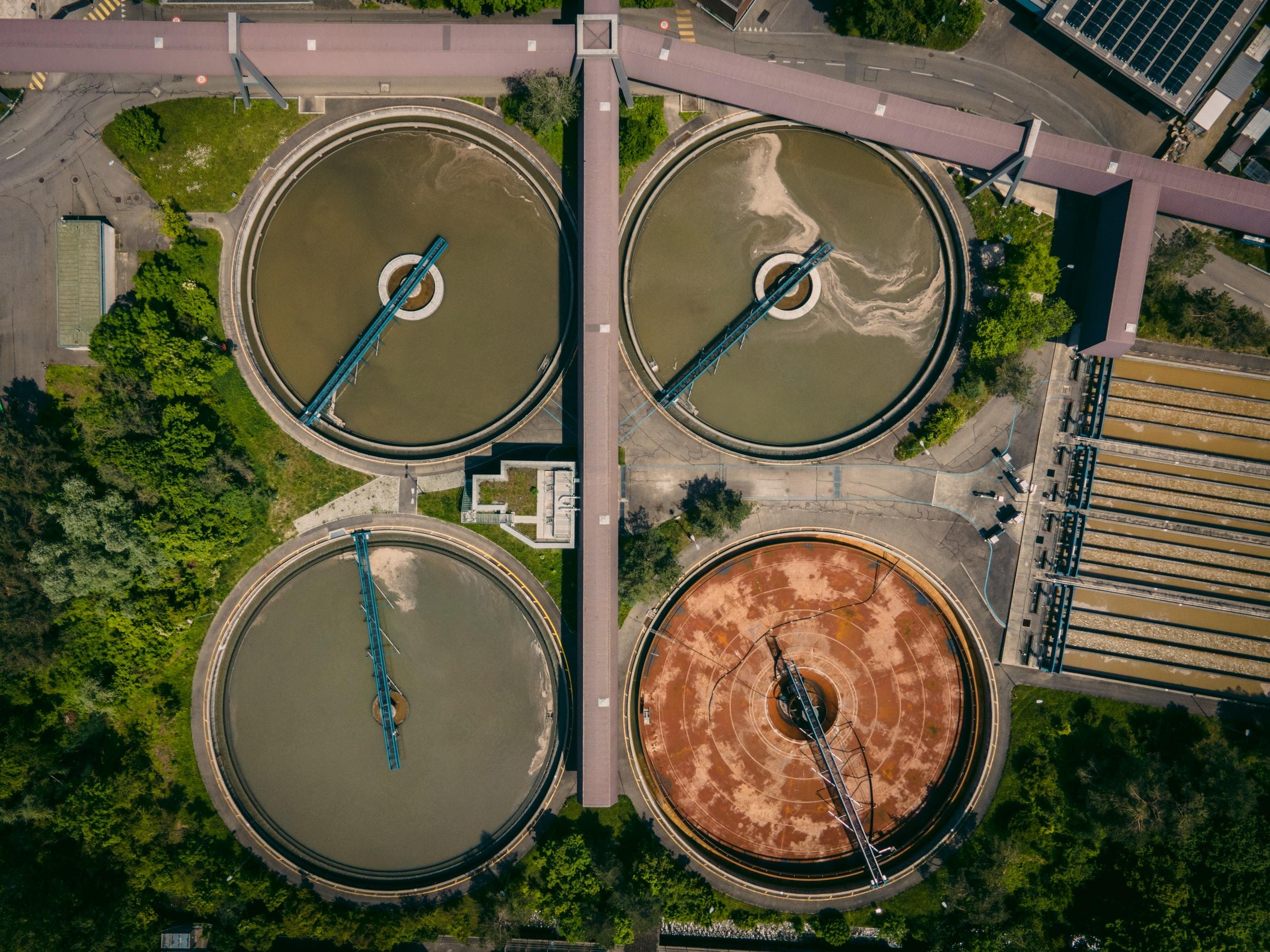 tanques procesos de depuración de aguas residuales