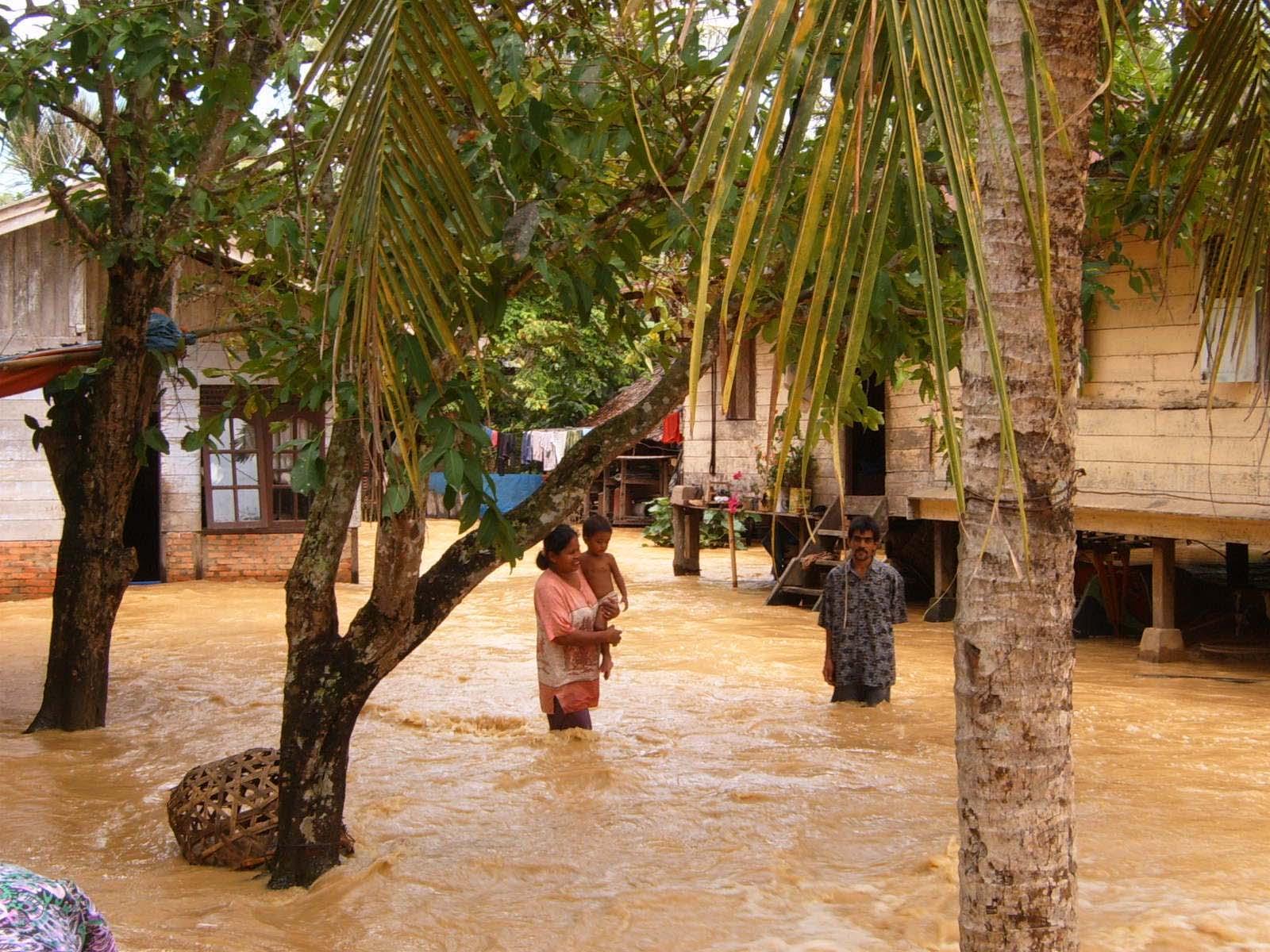 Floods in Langsa, Indonesia