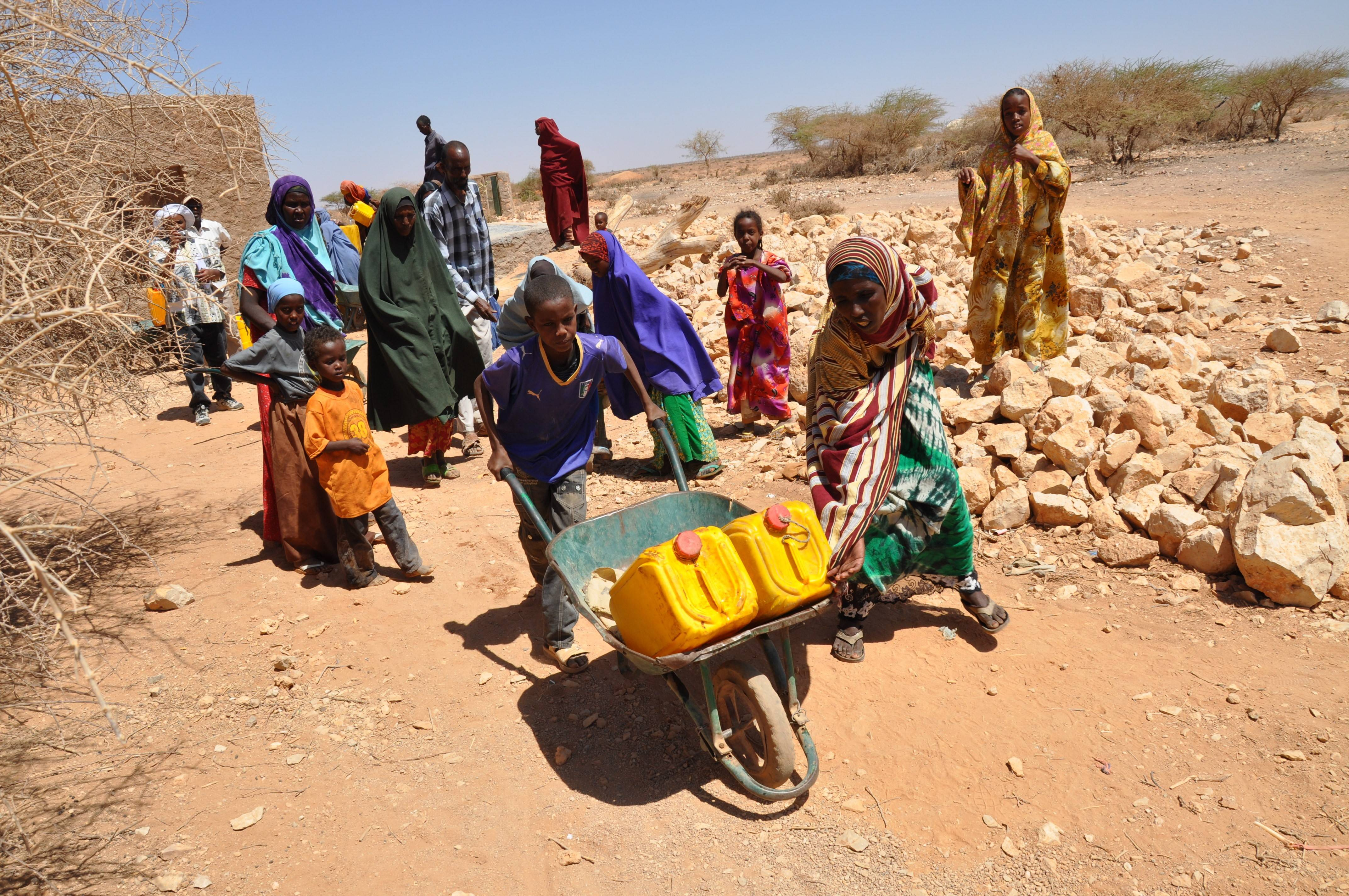 Sahel and the horn od Africa famines