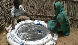Agua para los campos de refugiados del este del Chad