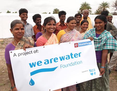 Agua contra el desarraigo de los m s pobres de la india for We are water